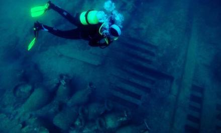 Encuentran la llave de la despensa (y de la historia) en el pecio romano de Bou Ferrer (Alicante)