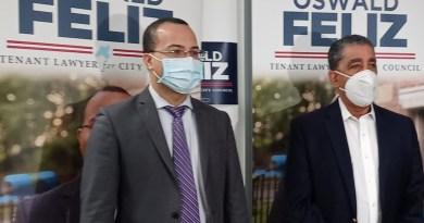 Espaillat anuncia apoyo a Oswald Feliz para candidato a concejal en el distrito 15 de El Bronx