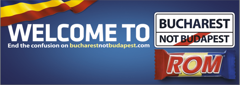 ROM Bucharest not Budapest