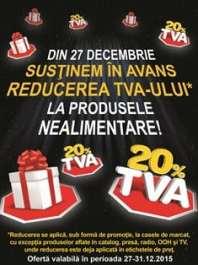 Reducerea TVA-ului in avans