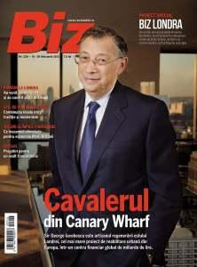 Biz magazine cover - Biz London