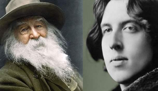O beijo na boca dos poetas Walt Whitman e Oscar Wilde