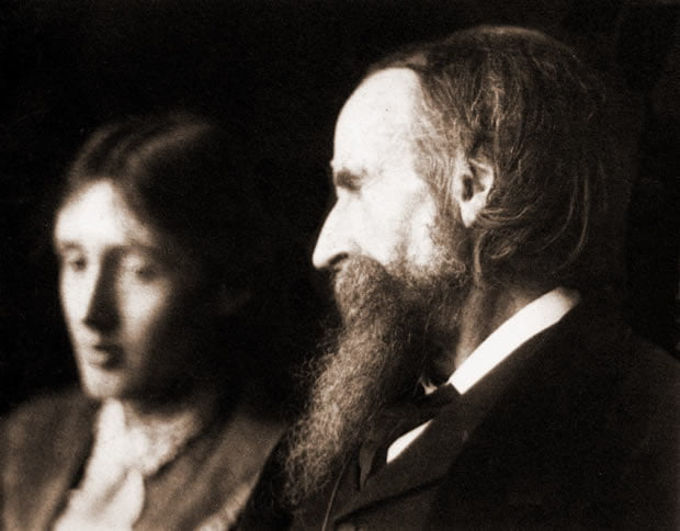 Virginia Woolf e Leslie Stephen