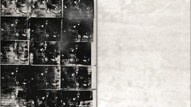 Acidente Com Carro Prata (1963), Andy Warhol