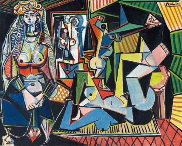 Mulheres de Argel (1955), Pablo Picasso