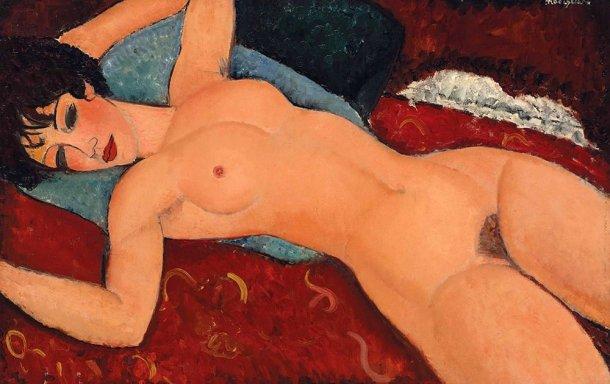 Nu Deitado (1917), Amedeo Modigliani