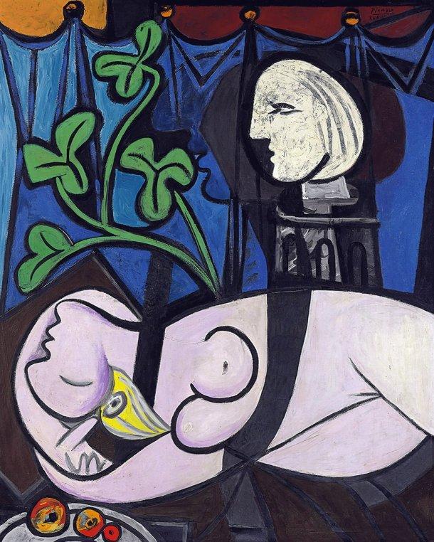 Nu, Folhas e Busto (1932), Pablo Picasso