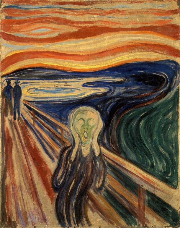 O Grito (1893), de Edvard Munch
