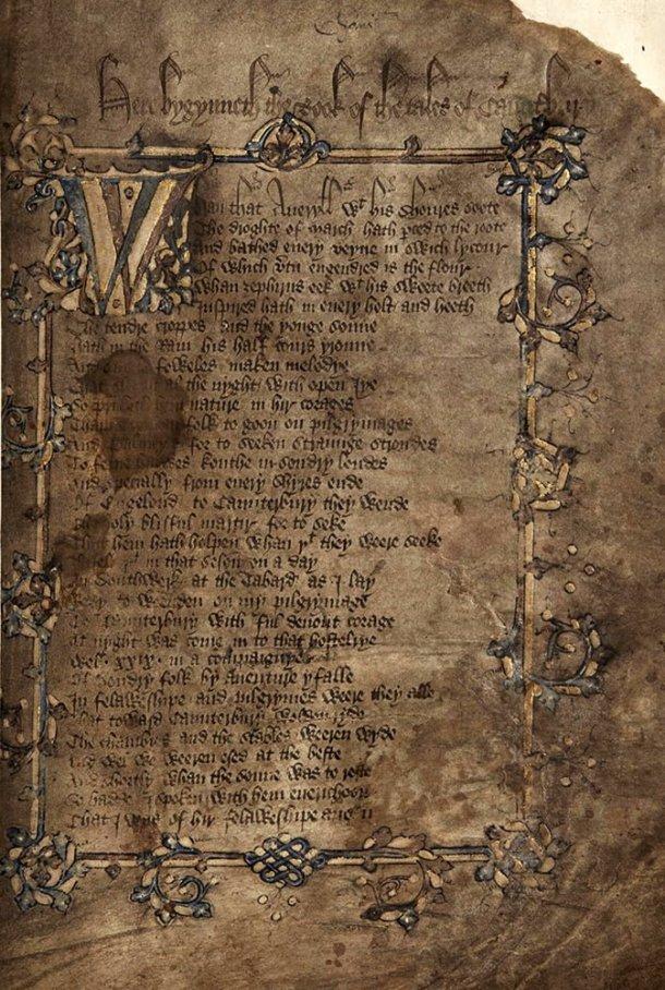 Os Contos de Cantuária, Geoffrey Chaucer