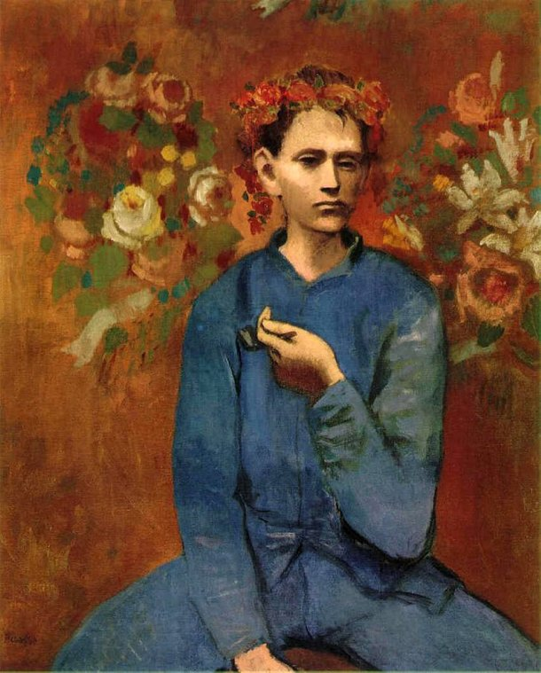 Rapaz com Cachimbo (1905), Pablo Picasso