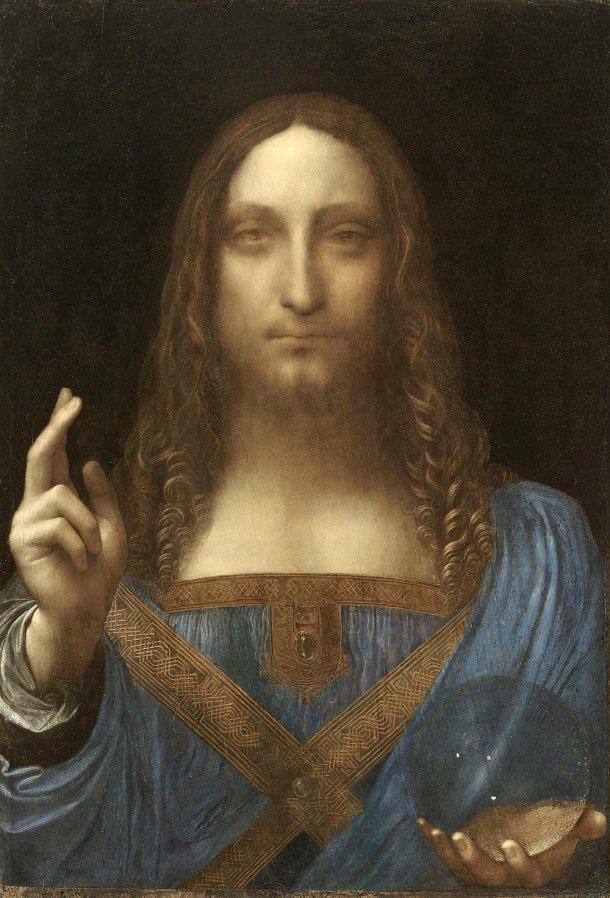 Salvator Mundi (1490), Leonardo da Vinci