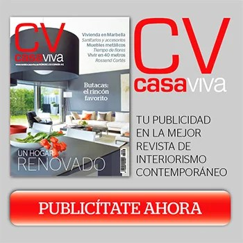 Publicidad en revista Casa Viva