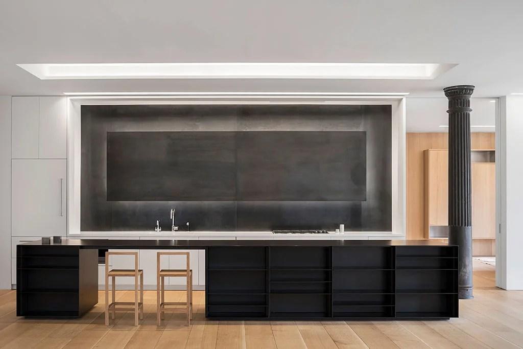 Diseño loft industria cocina