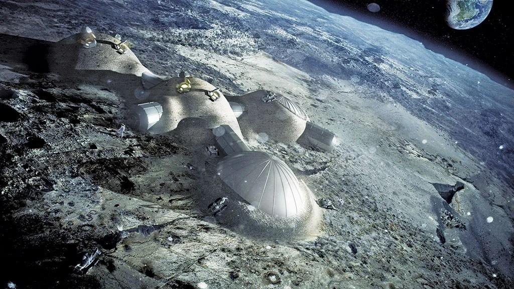 Norman Foster. Habitación lunar.
