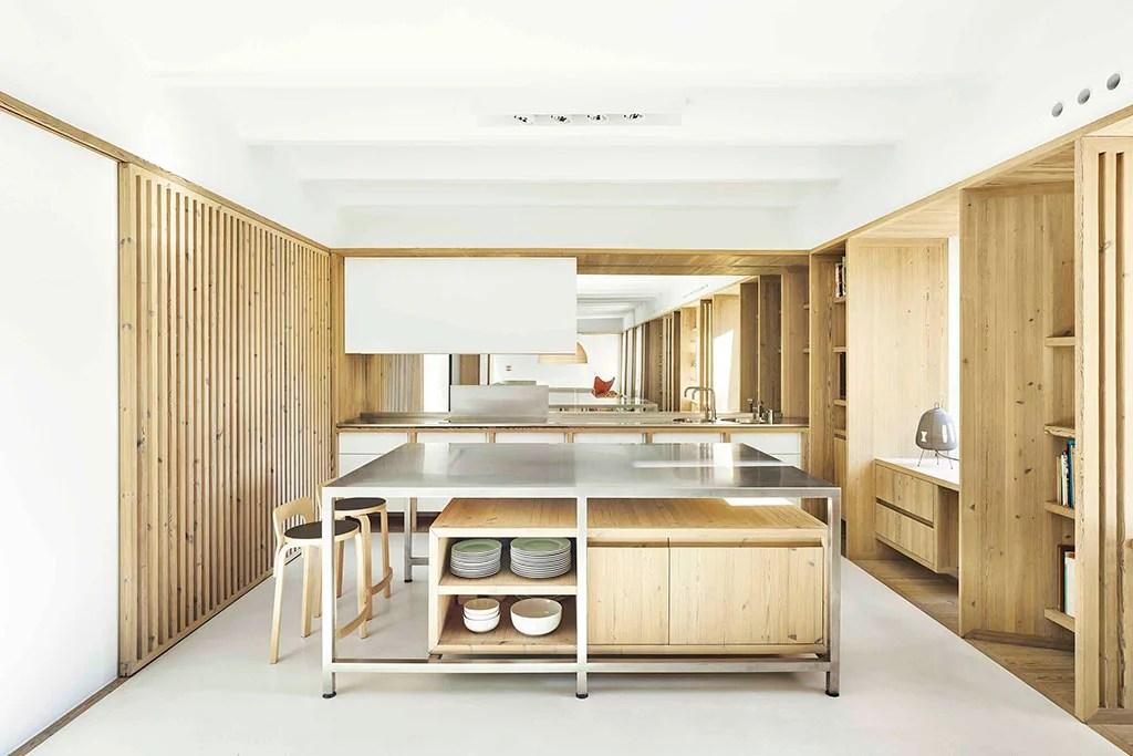 Casas japonesas. Cocina.