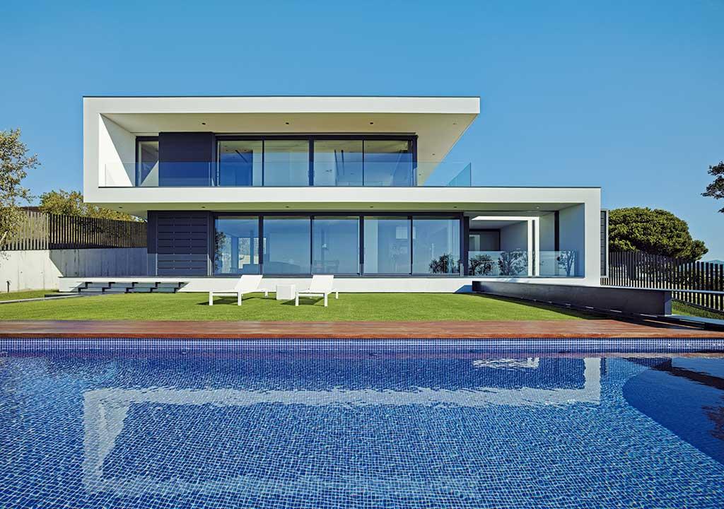 Arquitectura racional. Fachada.