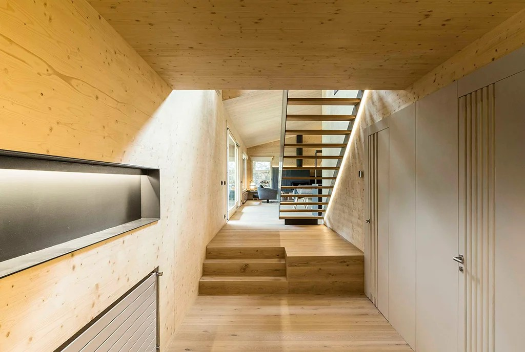 Diseño vivienda unifamiliar. Escaleras.