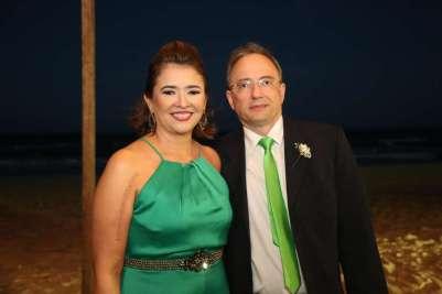 Glaucia e Miguel Rocha