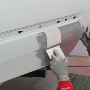 Trabajos de pintura en la reparación de daños estéticos