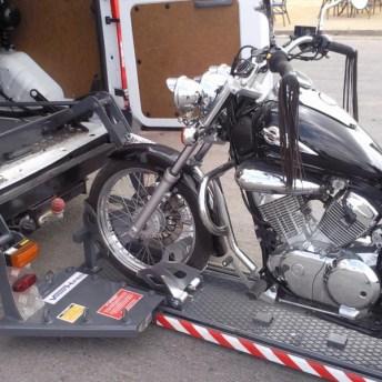 Plataforma elevadora para motocicletas