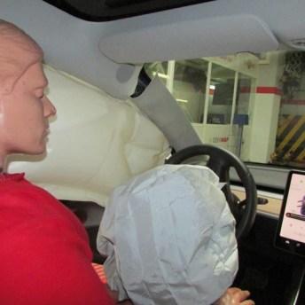 Activación de los airbags
