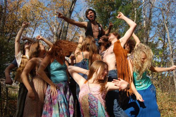 Resultado de imagem para geração hippie
