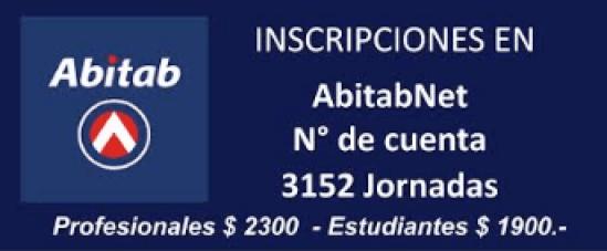 Inscripciones en ABITAB 3152 Jornadas
