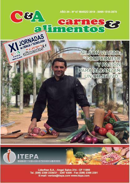 Revista Carnes & Alimentos del mes de Marzo de 2019