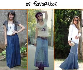 saia jeans longa 1