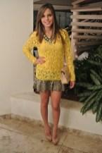 blusa de renda amarela 3