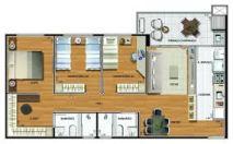 suite com closet 4
