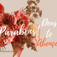MENSAGEM DE ANIVERSÁRIO GOSPEL – PARABÉNS!!