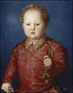 García de Médicis (Bronzino) Museo Nacional del Prado