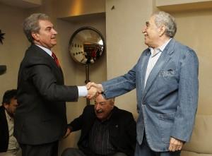 César Antonio Molina, Gabriel García Márquez y Álvaro Mutis