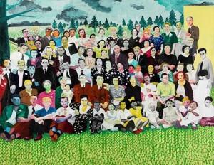 Pablo Valle,El bosque. 2005-2006. Galería Rafael Pérez Hernándo, Art Madrid 09