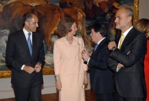 La Reina en la exposición de Sorolla en el Prado