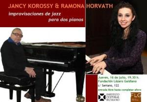 Jazz Jancy Korossy y Ramona Horvath