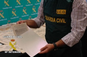Guardia Civil, manuscritos 2