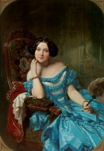 Federico de Madrazo. Amalia de Llano y Dotres, condesa de Vilches. Siglo XIX. Museo del Prado