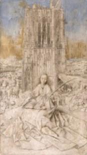 Santa Barbara, Jan Van Eyck, Koninklijk Museum voor Schone Kunsten de Amberes