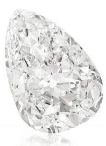 Evening Star B, subasta de joyas, diamante en Christies 10-12-09
