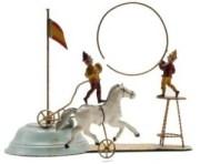 Malabaristas, juguete Circo, Museo del Traje
