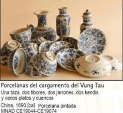 Porcelana cargamento de Vung Tau