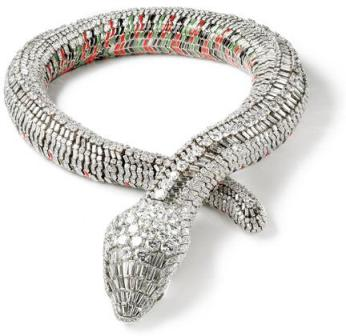 Collar serpiente