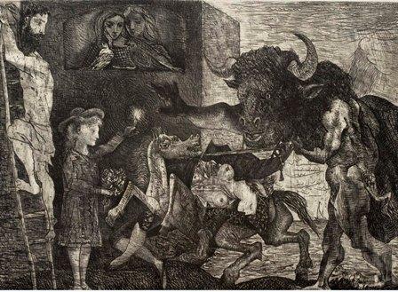 Minotauromaquia, 1935