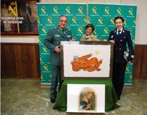 Guardia Civil- Robos obras de arte