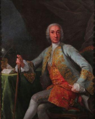 Giuseppe Bonito, Retrato de Leopoldo de Gregorio, Marqués de Esquilache, Museo del Prado