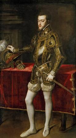 Felipe II de Tiziano - Museo del Prado