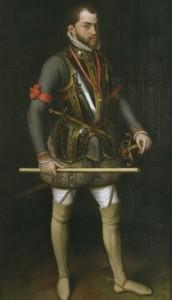 Felipe II, Antonio Moro, Patrimonio Nacional, El Escorial
