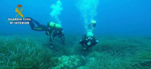 Guardia Civil - buceo Patrimonio subacuatico 2